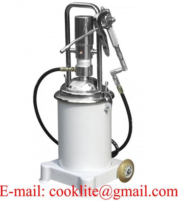 50:1 Air Opeated Grease Pump Lubricator - 12L
