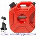 Tanica Canestro Carburante Benzina Omologata 3 litri con Travasatore