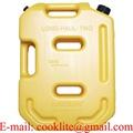 Tanica canestro in plastica 10 litri per trasporto liquidi infiammabili o acqua