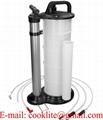 Manuale liquido e olio estrattore aspirazione pompa avuoto 9L
