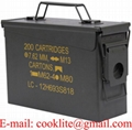 Caja original metal US de munición M19A1 Cal 30