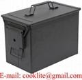 Caja de metal de municiones militar PA108
