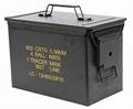 Caja herramientas tipo militar municiones airsoft PA108