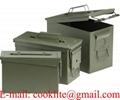 Cajas militares municiones herméticas