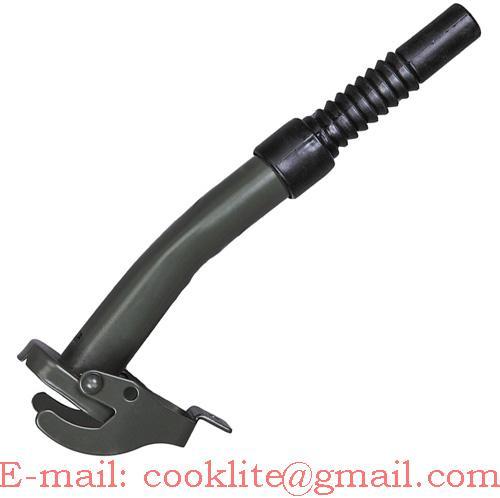 Boquilla/caño metálico rígido para bidón metálico