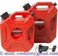 Tanque o bidón plástico para combustible 3L gasolina pack