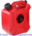 Tanque bidón plástico para gasolina y combustible 3 litros