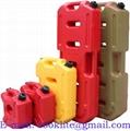 Recipiente o envase plástico para transportar gasolina y combustible