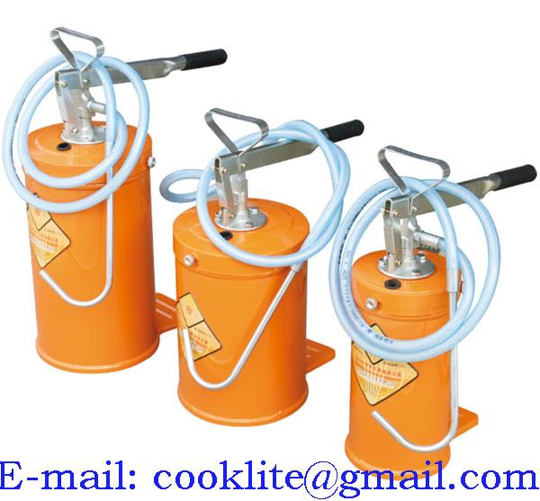 Dispensador de lubricante manual / Cubeta despachadora de aceite