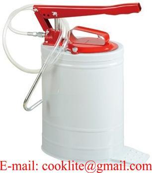 Pato aceitero / Aceitera en balde tipo palanca 20 litros