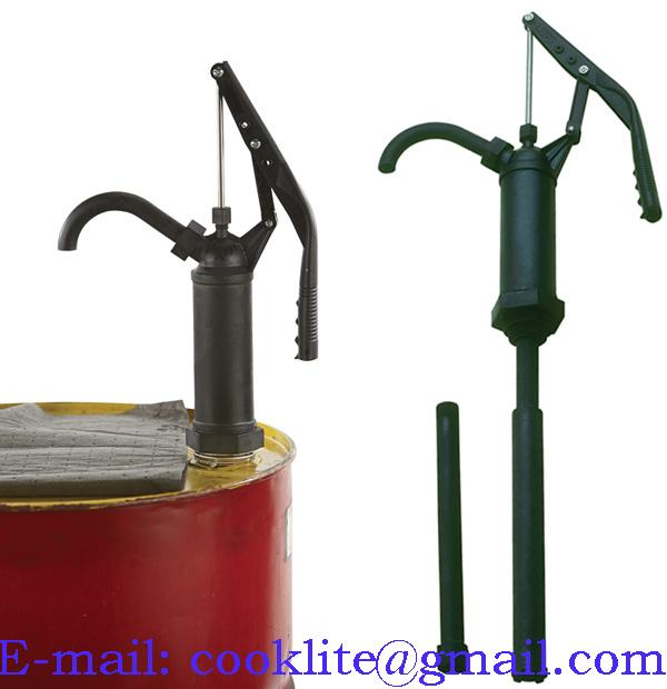 """RP-90RT Polyphenylene Sulfide ( Ryton ) Rotary Style Chemical Dispensing Drum Pump with 2"""" Bung"""