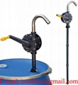 "RP-90RT Polyphenylene Sulfide ( Ryton ) Rotary Style Chemical Dispensing Drum Pump with 2"" Bung"
