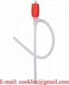 Pompe siphon syphon manuelle pour transférer des fluides dans un bidon ou inversement