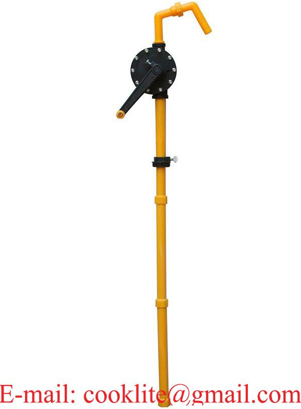 RP-90R Corrosion Resistant Rotary Drum Barrel Pump Made of Ryton (Polyphenylene Sulfide)