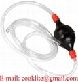 Pompa a sifone per travaso liquidi benzina diesel con tubo lungo 180 cm