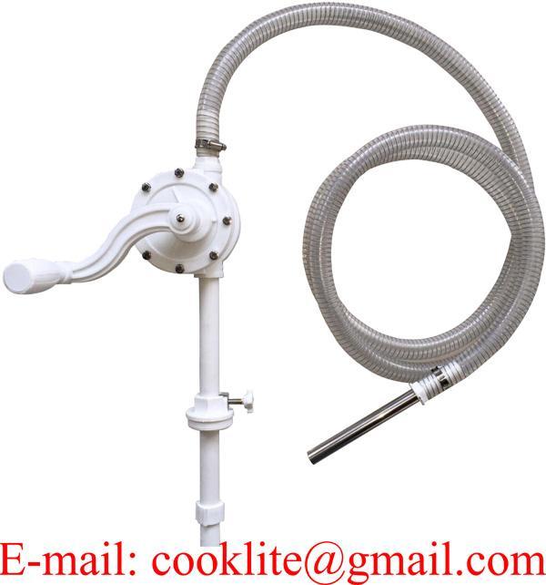 Pompa manuale rotativa per travaso urea Adblue, antigelo e acqua