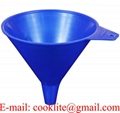 16 Ounce Chemical-resistant Polypropylene Plastic Utility Funnel