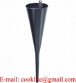 "18"" Long Neck PP Plastic Funnel Transmission Filler Funnel"