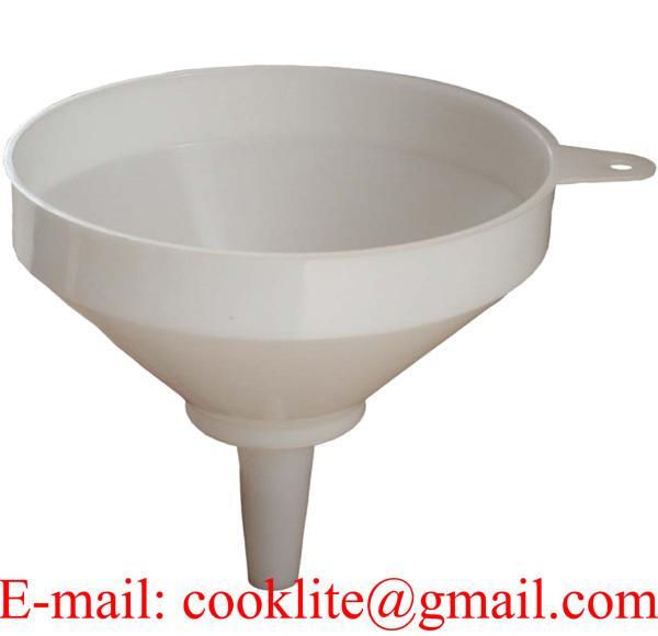 64 Ounce Chemical-resistant Polyethylene Plastic Utility Funnel