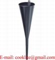 Black Plastic Transmission Funnel, Rigid, 18
