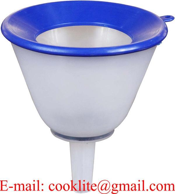 Spill Proof Oil Straining Funnel