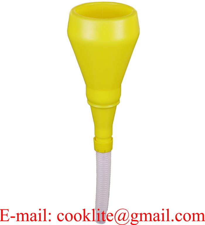 100mm Anti Spill Funnel With Strainer and Flexible Spout