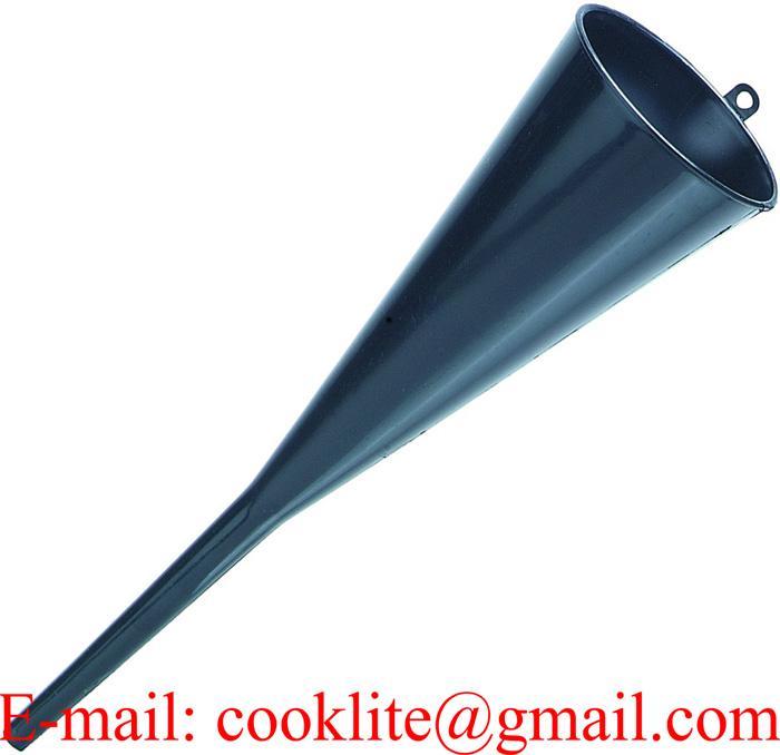 Chemical-Resistant Heavy-duty Polyethylene Funnel with Anti-splash Ring