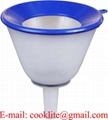 24 Ounce Plastic Anti-Splash Funnel with Mesh Filter