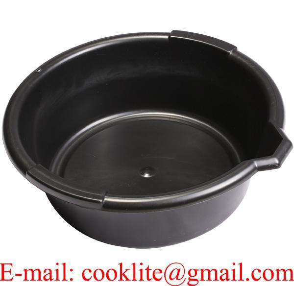 6L Oil Pan with Spout