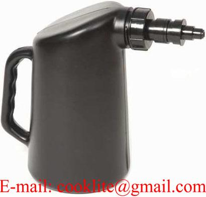 Golf Cart / Deep Cycle Battery Jug Water Filler Bottle w/ Auto Shut Off