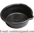 6 Qt Round Plastic Drain Oil Pan
