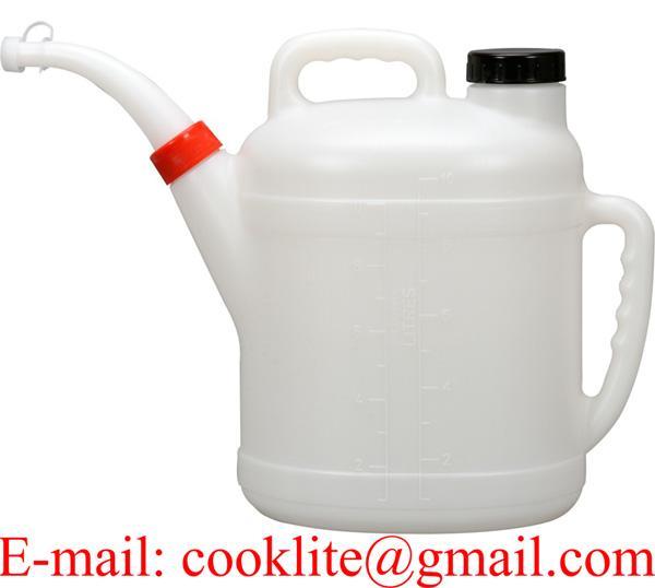 Petrol Diesel Fuel Oil Measuring Jug with Pouring Spout & Lid 10 Litre