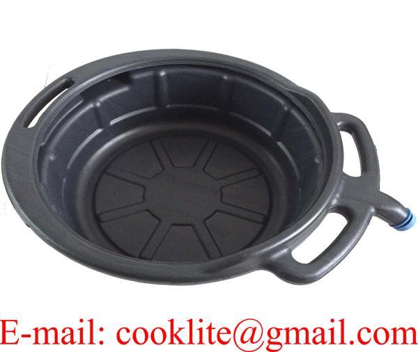 12 Litre Oil Fuel Coolant Change Drain Storage Pan Tray Bucket