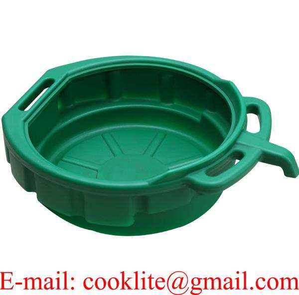 Oil Coolant Antifreeze Fuel Drain Pan Tray 15 litre Bucket Car