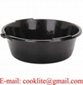 Plastic 6 Litre Oil Draining Drain Pan Tray with Pouring Lip