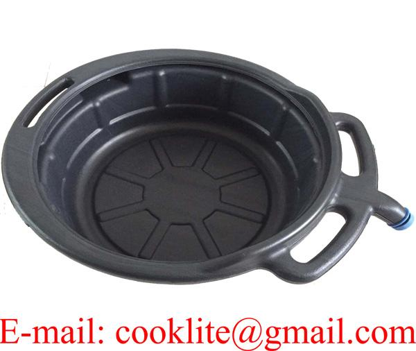 Plastic Oil/Fluid Drain Pan 12 Litre