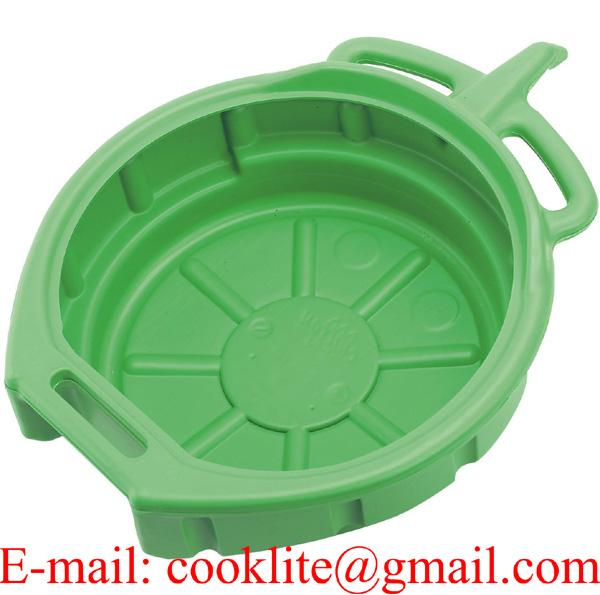 Oil Antifreeze Drain Pan Drip Tray Drainage Container 15 Litre