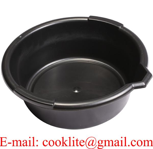 Plastic Oil Drain Can 6 litre Oil Collecting Pan