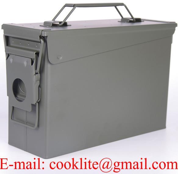 Ammo Can US Army Military M19A1 30 Cal Ammunition Metal Storage Box