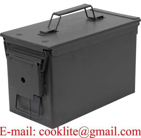 M2A1 .50 Cal Metal Original Military Ammo Can