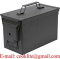 Ammo Can US Army Military M2A1 50 Cal Ammunition Metal Storage Box 5.56MM