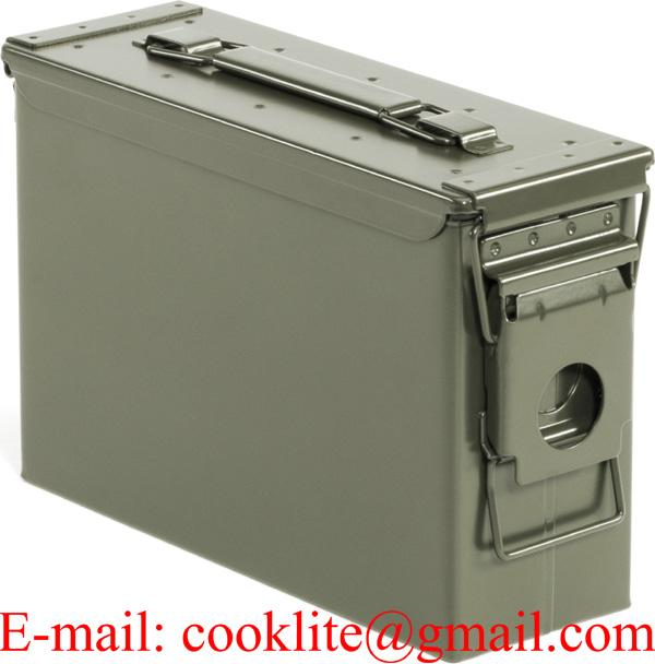30 Caliber Steel Ammo Can M19A1 Waterproof Ammunition Storage Box