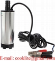 DC 12V Submersible Pump 38mm Diameter Water Oil Diesel Fuel Transfer Refueling