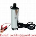 "12V Electric Water Submersible Intank Fuel Diesel Pump Oil Liquid 3/4"" Hose"