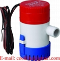 759GPH Non Automatic Submersible Bilge Pump for Marine Boat RV Campers 12V 24V