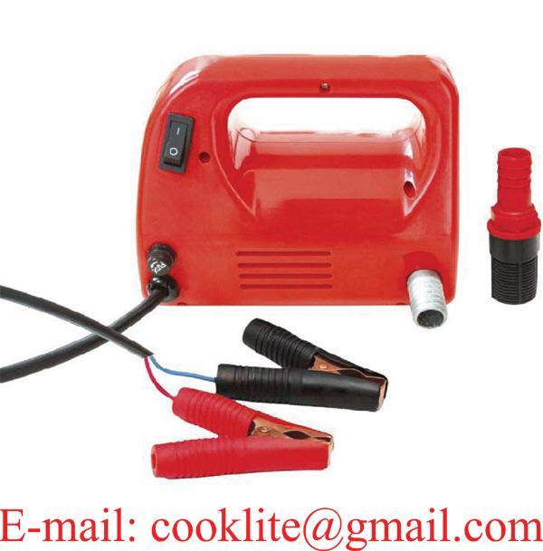 12V 24V Portable Fuel Diesel Pump Oil Transfer Pump Self Priming 30L/Min 120W
