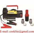 DC12V 24V 150W 30L/Min Oil Diesel Kerosene Fuel Transfer Pump Portable Self Priming