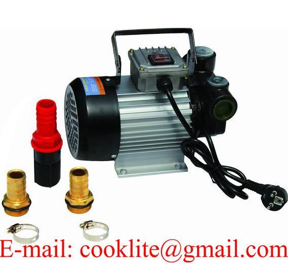 110V 220V Portable Fuel Diesel Pump Oil Transfer Pump Self Priming 60L/Min 550W