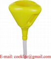 2 Qt Polythene Fast Fill Funnel with Filter and Flexible Spout