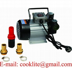 220V AC Oil Diesel Fuel Transfer Pump Self Priming Extractor